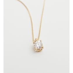 COLGANTE ORO Y BRILLANTE 0.18CT