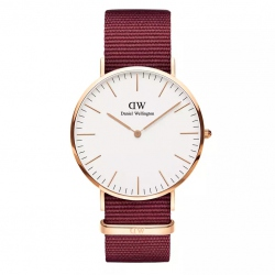DANIEL WELLINGTON CLASSIC ROSELYN 40 MM ROSE