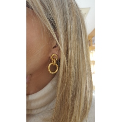 PENDIENTES ORO DANGLE WSRE00063